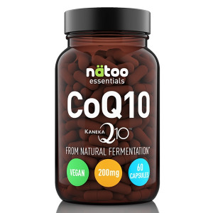 Natoo Essential CoQ10 200mg Kaneka 60cps