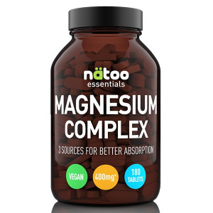 Natoo Essentials Magnesio 200mg 180cpr