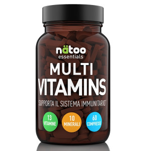 Natoo Essential Multi Vitamins 60cpr