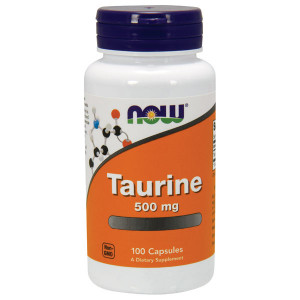 Taurine 500mg Free Form 100 cpr