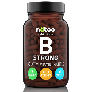 Natoo Essentials Vitamin B Strong Complex 60 soft