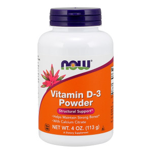 Vitamin D3 with Calcitrate Powder 113gr